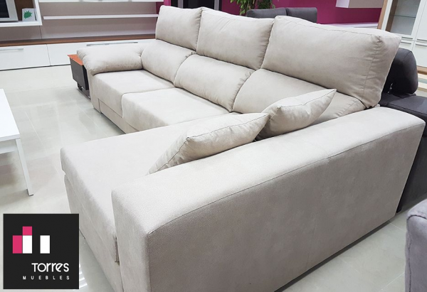 Sofá Chaiselongue 3 Plazas - extraible y reclinable on chaise furniture, chaise sofa sleeper, chaise recliner chair,